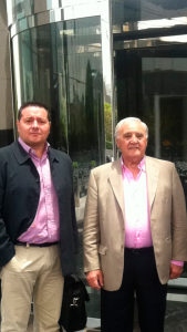 Tomás Casado y Gustavo Díaz