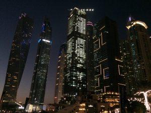 Skyline Behindbusiness Destino Dubai