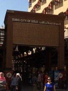 Mercado del oro Dubai
