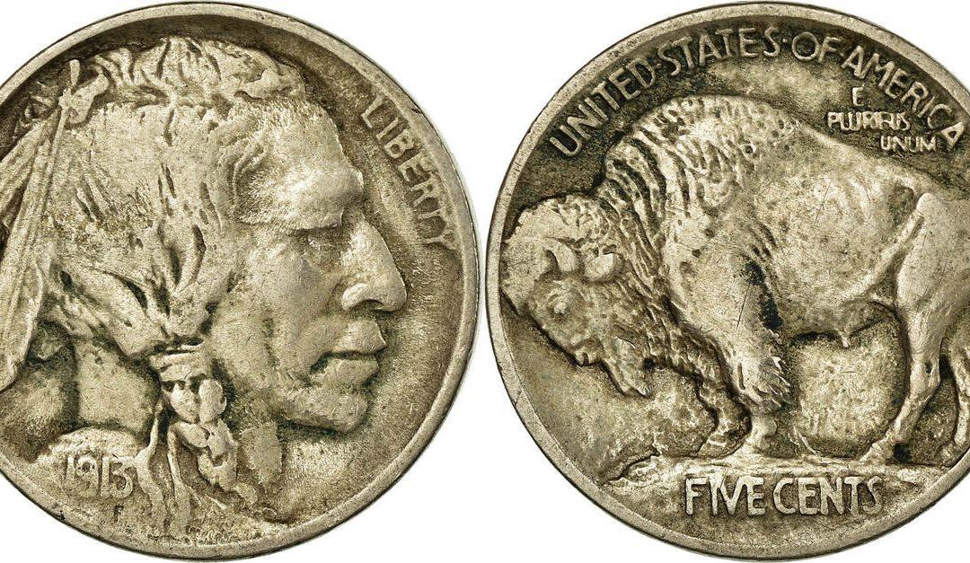 La moneda más bonita de la historia. Buffalo Nickel.